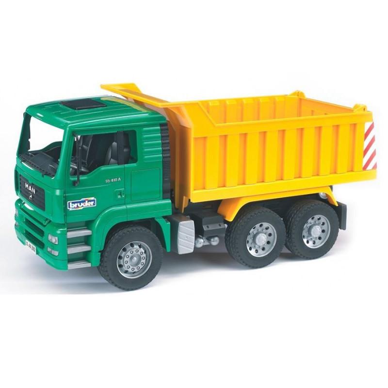 Ciężarówka z wywrotką Man Bruder 02765