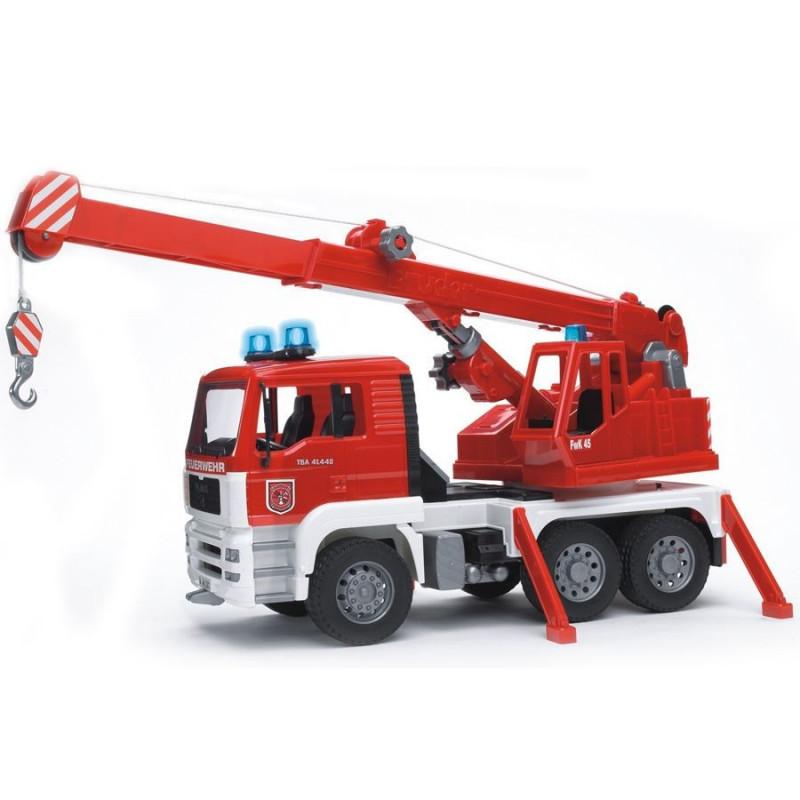 Straż pożarna MAN Bruder 02770