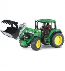 Traktor John Deere z ładowarką Bruder 02052