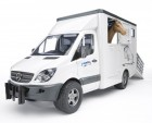 Mercedes Benz Sprinter do przewozu koni Bruder 02533