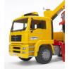 MAN TGA pomoc drogowa + Jeep Bruder 02750