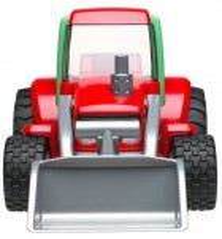 Roadmax Tractor with Frontloader Bruder 20102