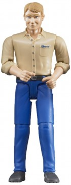 Man with Blue Trousers Bruder 60006