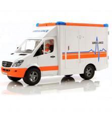 Ambulans z ratownikiem medycznym Bruder 02536