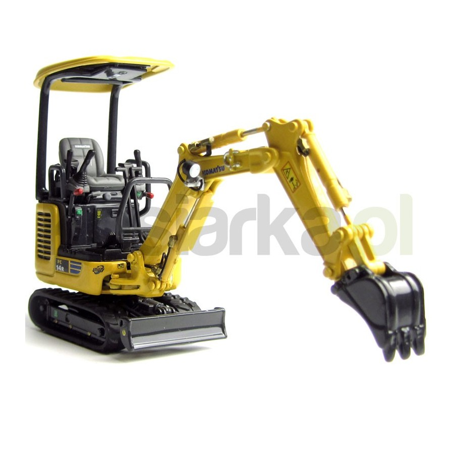 Model collector Komatsu PC 14R Universal Hobbies 8007
