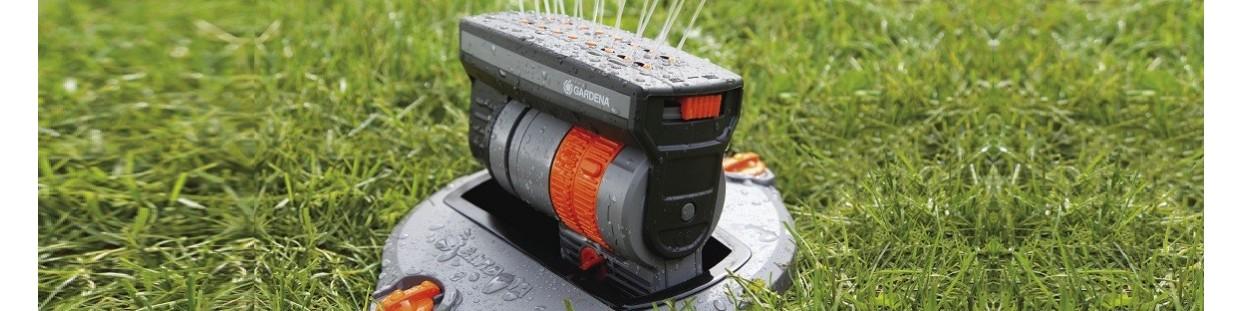 Sprinklersystem - pop-up sprinklers