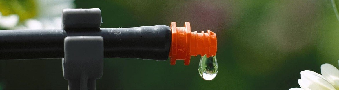 Watering plants and lawn with broadcasting systems and other irrigation accessories.